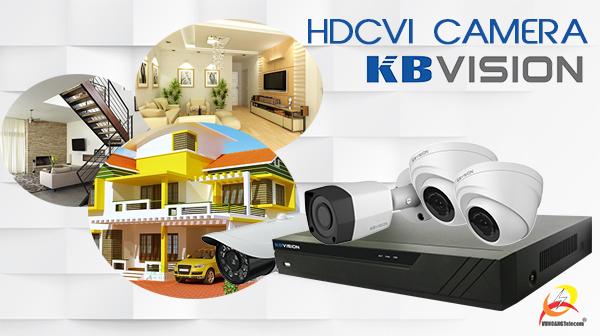 lắp đặt camera HDCVI KBVISION