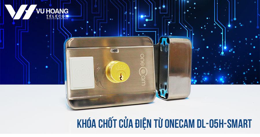 Khóa chốt cửa điện từ ONECAM DL-05H-Smart