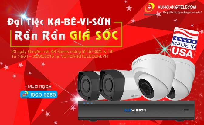 lắp đặt camera KBVISION giá rẻ -3