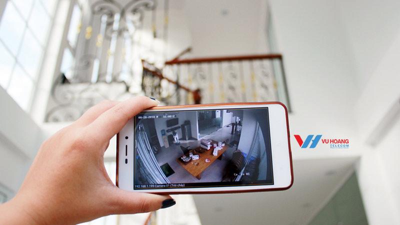 Lắp đặt camera quan sát cho nhà biệt thự ở quận Thủ Đức