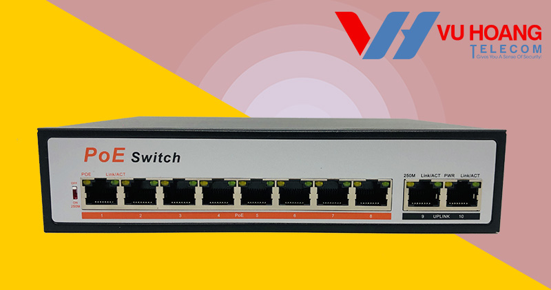 switch OneCam 8 cổng mới