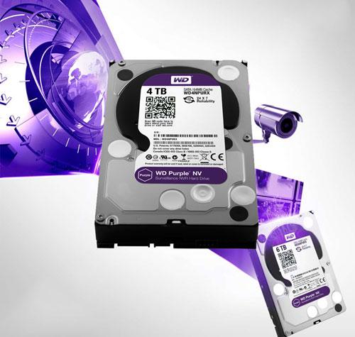 Ổ cứng WD Purple được đánh giá chịu áp lực hoạt động liên tục