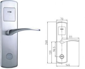 khóa cửa điện tử chống trộm -2