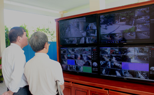 Giải pháp camera giám sát từ xa