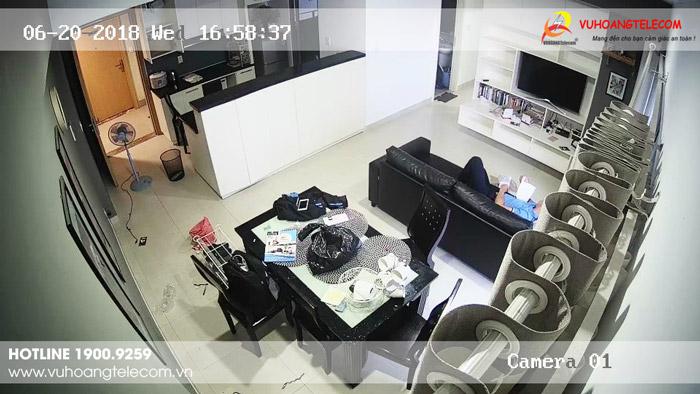 Lắp đặt camera cho hộ gia đình chất lượng hình ảnh HD