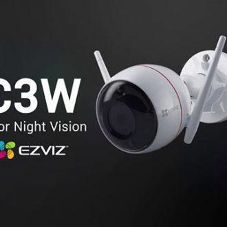 Camera WIFI EZVIZ C3W có màu ban đêm