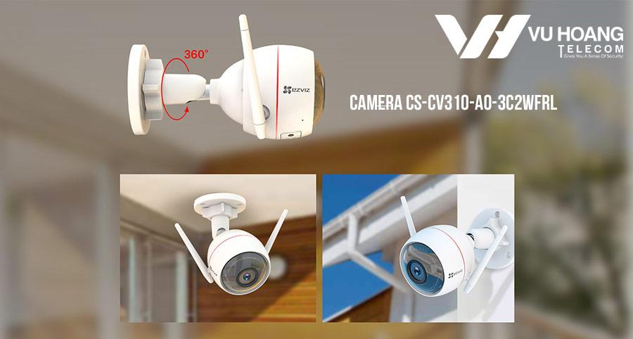 Camera Wifi EZVIZ C3W Full color lắp đặt trong nhà và ngoài trời