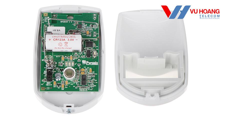 Cảm biến hồng ngoại không dây HIKVISION DS-PD2-P10P-W chất lượng