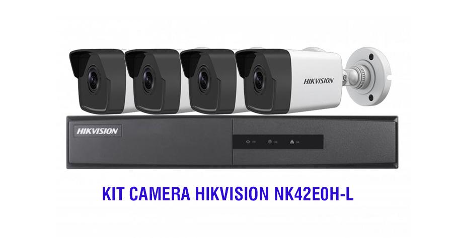 Bộ KIT Camera HIKVISION NK42E0H-L