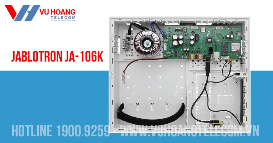 Trung tâm báo động kết nối GSM/GPRS và LAN JABLOTRON JA-106K