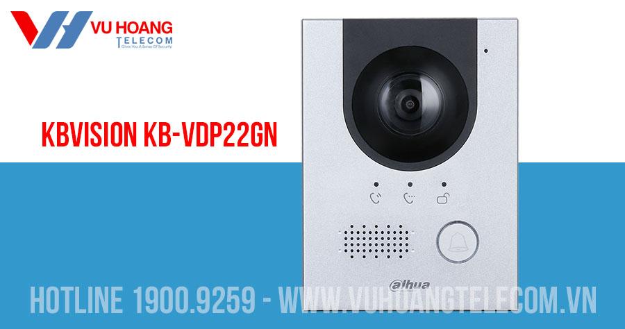 Camera chuông cửa IP KBVISION KB-VDP22GN
