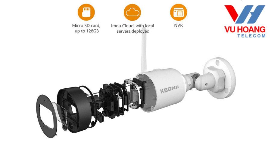 Camera KN-4001WN cho hình ảnh sắc nét