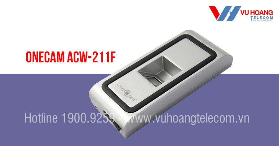 Đầu đọc vân tay và kiểm soát cửa ONECAM ACW-211F