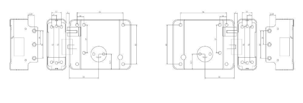 Khóa chốt điện từ ONECAM DL-03GR-P