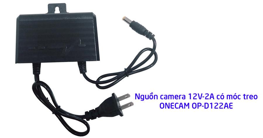 Nguồn camera 12V-2A có móc treo ONECAM OP-D122AE giá tốt