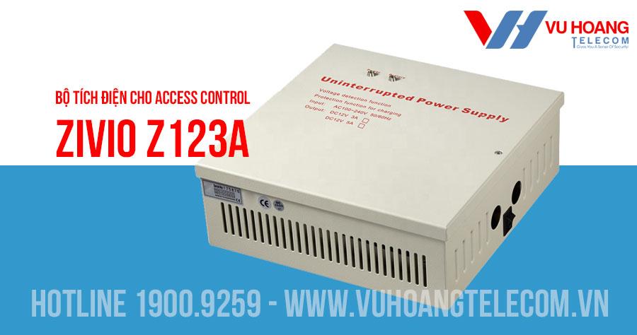 Bộ tích điện cho Access Control ZIVIO Z123A