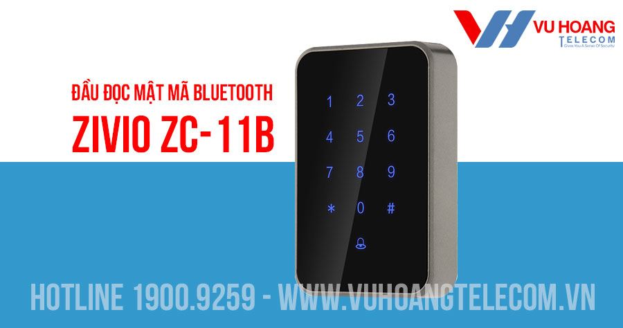Đầu đọc mật mã Bluetooth ZIVIO ZC-11B
