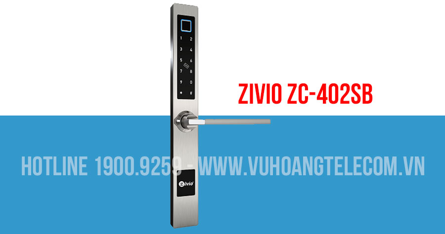 Khóa cửa vân tay Bluetooth ZIVIO ZC-402SB