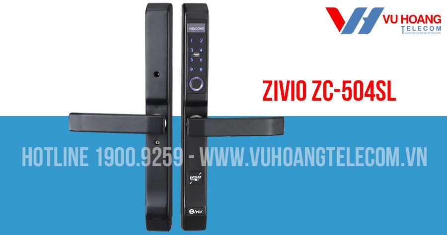 Khóa cửa vân tay ZIVIO ZC-504SL