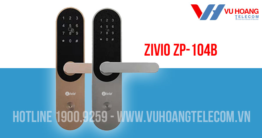 Khóa cửa mật mã Bluetooth ZIVIO ZP-104B