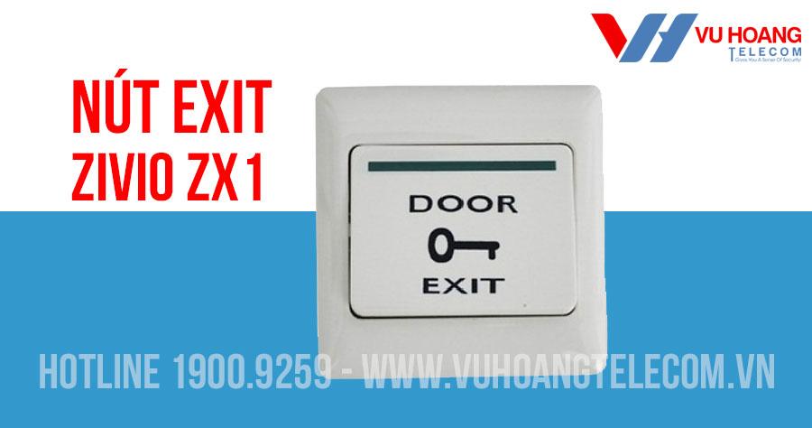 Nút Exit cho khóa cổng điện tử ZIVIO ZX1