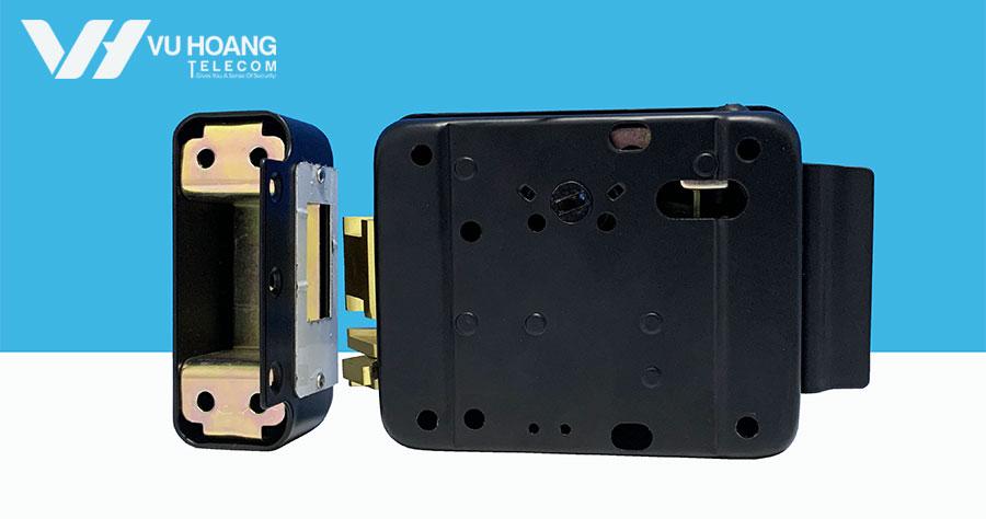 Mặt sau khóa điện từ DL-03BL-P
