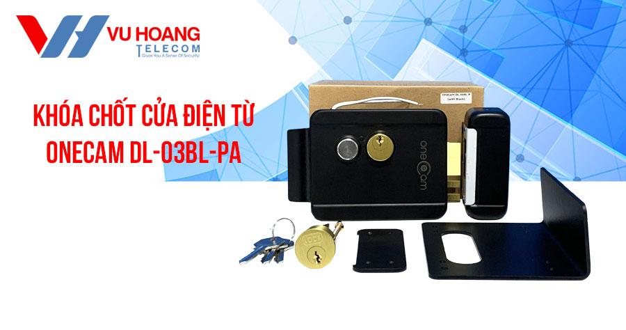 Khóa chốt cửa điện từ ONECAM DL-03BL-P