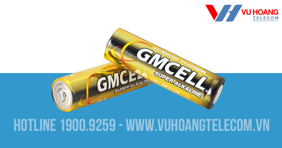 Pin ALAKLINE 2A GMCELL 1.5V dung lượng cao
