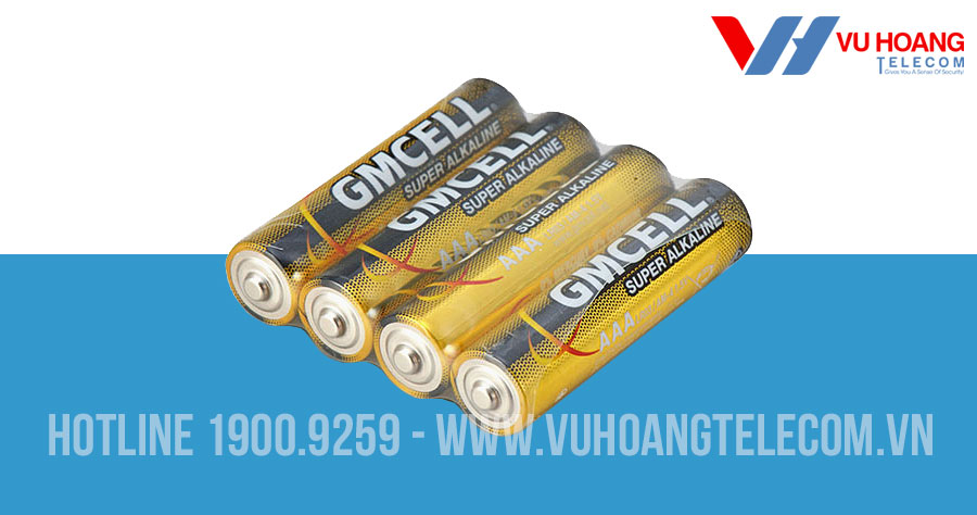 Pin ALAKLINE 3A GMCELL 1.5V dung lượng cao