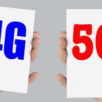 toc do mang 5G va 4G khac nhau nhu the nao