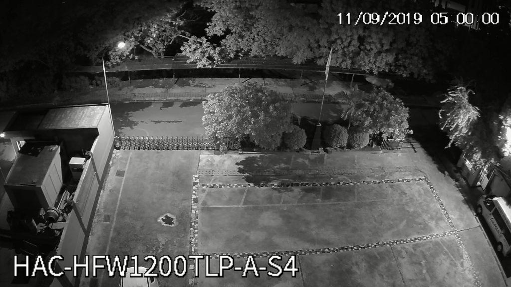 Hình ảnh camera HFW1200TLP-A-S4 ghi lại lúc 5h00 sáng
