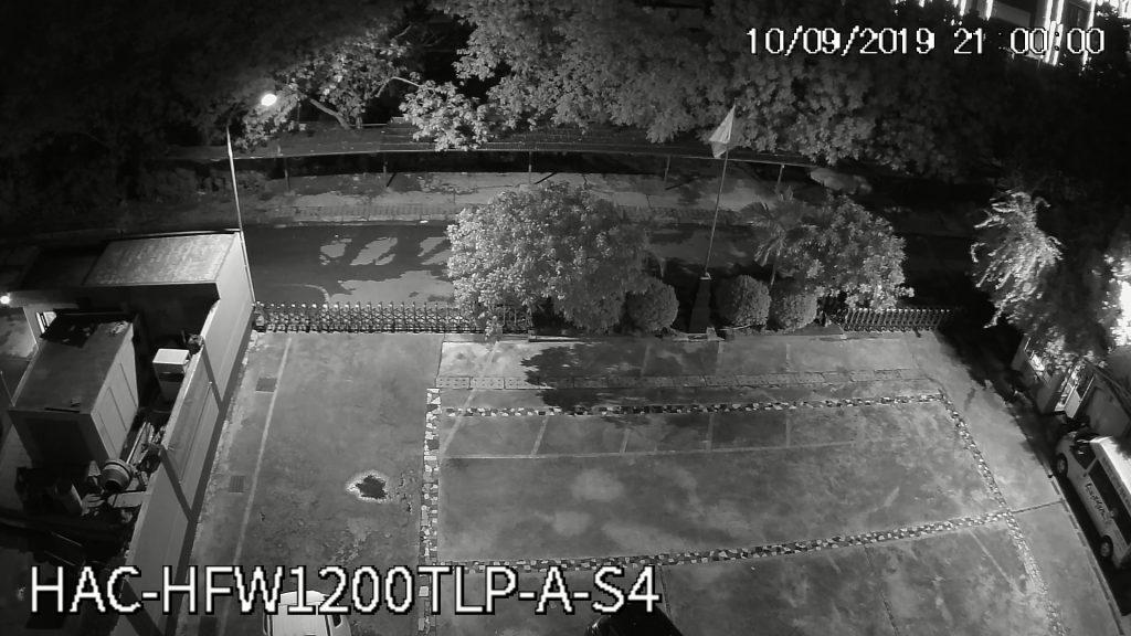 Hình ảnh camera HFW1200TLP-A-S4 ghi lại lúc 21h00 tối