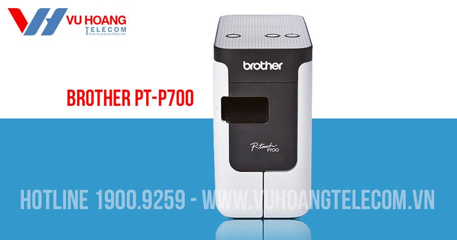 Thiết bị in nhãn BROTHER PT-P700