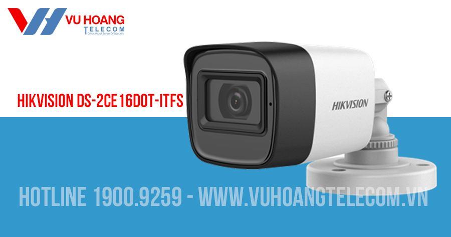 Camera HDTVI 2MP có mic HIKVISION DS-2CE16D0T-ITFS