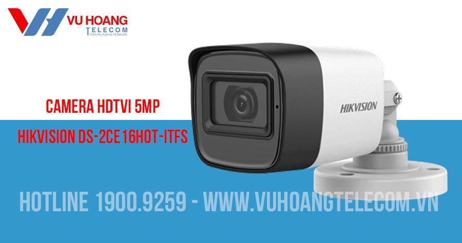 Camera HDTVI 5MP có mic HIKVISION DS-2CE16H0T-ITFS