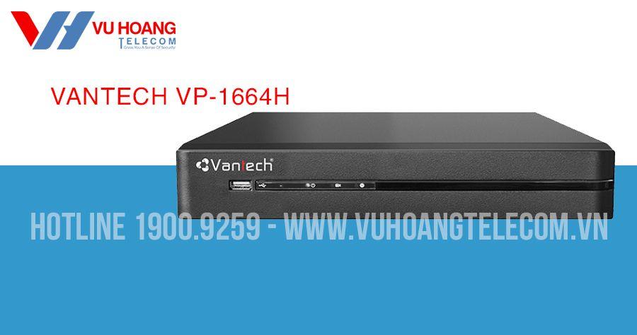 Đầu ghi hình All in one 16 kênh VANTECH VP-1664H