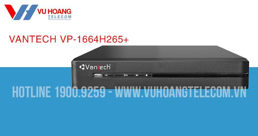 Đầu ghi hình All in one 16 kênh VANTECH VP-1664H265+