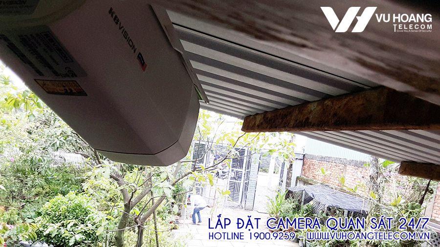 Camera thân trụ KBVISION này có tầm quan sát xa hơn 60m