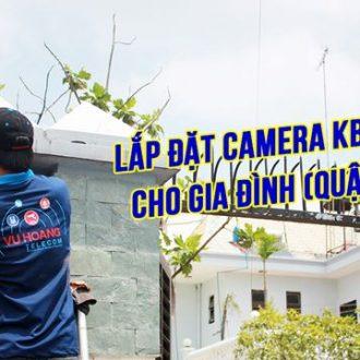 Công trình lắp đặt camera KBVISION cho gia đình (quận 12)
