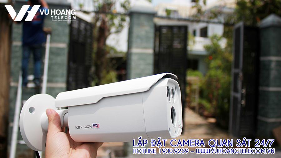 Thương hiệu camera KBVISION lắp đặt cho gia đình