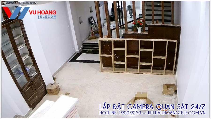 Vị trí camera quan sát bên trong nhà