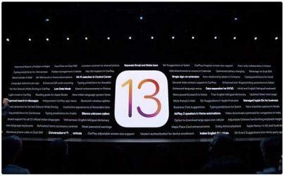 iOS 13 da duoc phat hanh