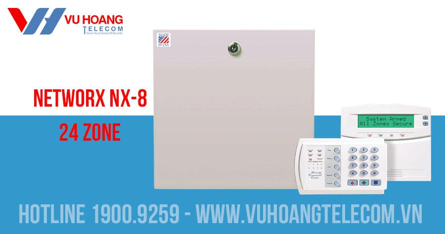 Báo trộm trung tâm NETWORX NX-8 24 Zone