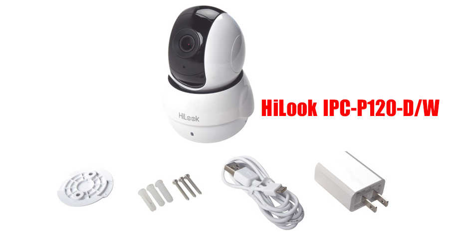 Camera IP Wifi 2MP HiLook IPC-P120-D/W
