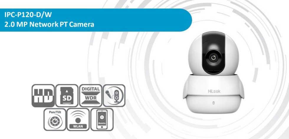 Camera IP Wifi HiLook IPC-P120-D/W chất lượng