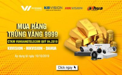 Khuyến mãi mua hàng trúng Vàng 9999 cùng Vũ Hoàng quý 4.2019