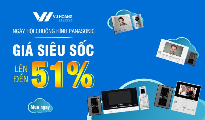 Ưu đãi Deal Chuông Hình Panasonic giá sốc