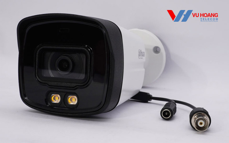Camera HDCVI 2MP Full Color DAHUA HAC-HFW1239TLMP-LED-S2