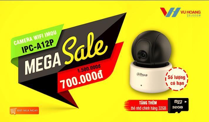 Mega Sale Camera Wifi A12P giá sốc