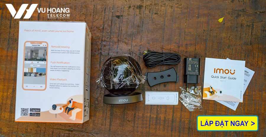 Trọn bộ camera Wifi Ranger Pro HD1080P